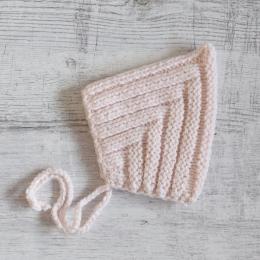 Czapka dla noworodka - prezent dla dziewczynki - baby shower - ALOM