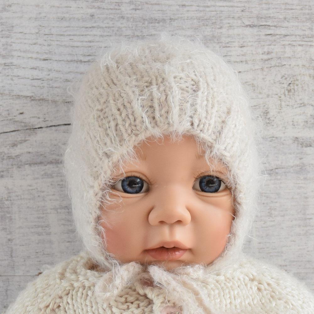 Czapka niemowlęca - sesja rodzinna - dla noworodka - wyprzedaż - ALOM
