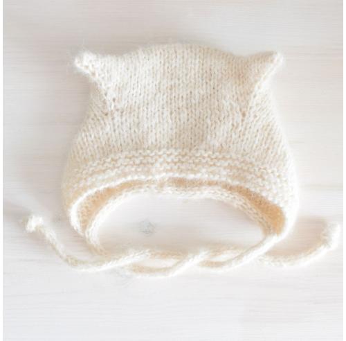 Czapka bonetka - czapeczka dla dziecka - polskie rękodzieło - ALOM
