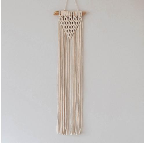 Makrama - dekoracja ścienna - handmade - scandi boho - ALOM