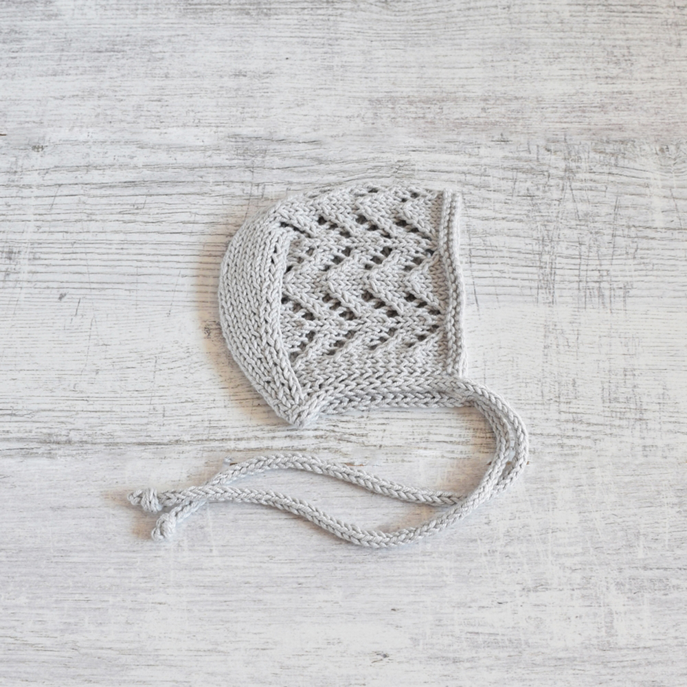Czapeczka dla wcześniaka - handmade - ALOM