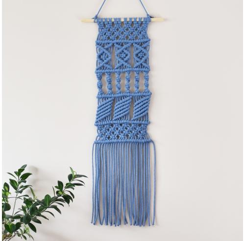 Makrama na ścianę - dekoracja handmade - ALOM