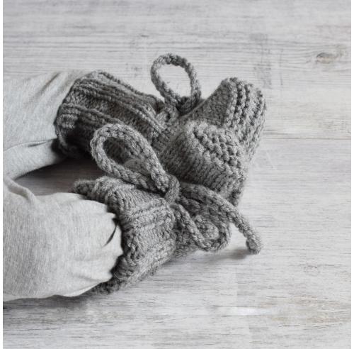 Buciki Lars - merino blend - handmade - ALOM
