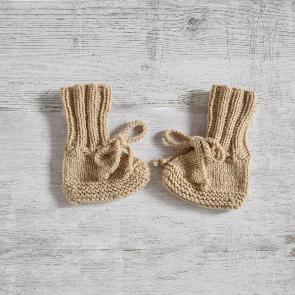 Kozaczki niemowlęce - buciki na zimę - handmade - ALOM