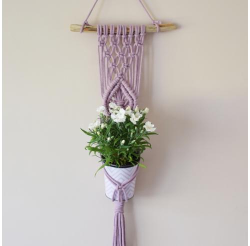 Kwietnik handmade - prezent na parapetówkę - ALOM