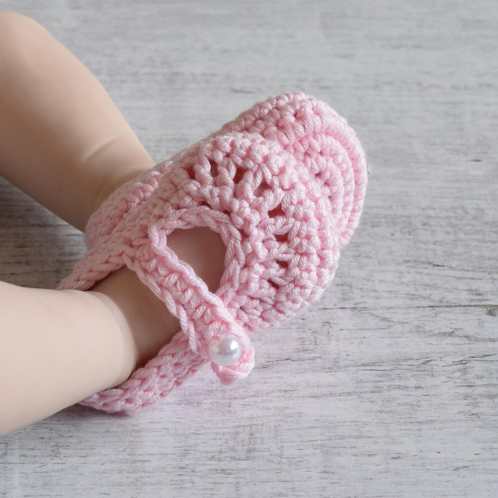 Buciki niemowlęce - baleinki -handmade - ALOM