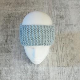 Opaska na głowę - ciepła opaska na zimę - handmade - ALOM