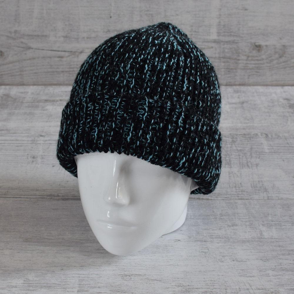 Wełniana czapka - unisex beanie - handmade - ALOM