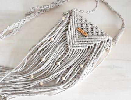 Akcesoria handmade: torebki boho