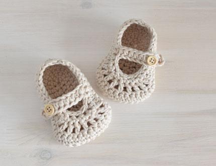 Buciki niemowlęce - polskie rękodzieło - ALOM